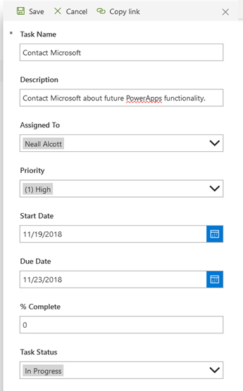 Creating PowerApps SharePoint List Forms for Out of the Box